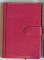 Щоденник недатований на магнітній кнопці з візитницею 150л. № 2514