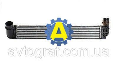 Радиатор интеркулера на Рено Меган (Renault Megane) 2009-2014