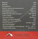 Лампа филамент шар 10 ват Е27 4200К, фото 7