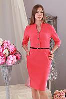 Платье женское красное р.48 Yam180.1