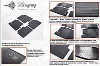 Hyundai Sonata YF 2010+ резиновые коврики Stingray Premium