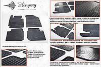 Hyundai Elantra 2012+ резиновые коврики Stingray Premium