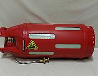 Полимерно-композитный пропановый баллон 47 литра с предохранительным клапаном.