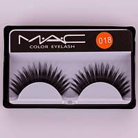 Накладные ресницы MAC color eyelash, фото 1