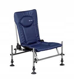 Кресло фидерное карповое М-Elektrostatyk F2 CUZO, синий, Модель 2020 Feeder Methood