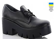 Туфли женские кожаные черные ARTO-006-ч.к.