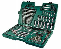 """Универсальный набор инструментов 1/4""""-3/8""""-1/2"""", 150 предметов (09510) SATA"""