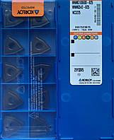 WNMG 100608 B25 NC3225 KORLOY Original Пластина твердосплавная