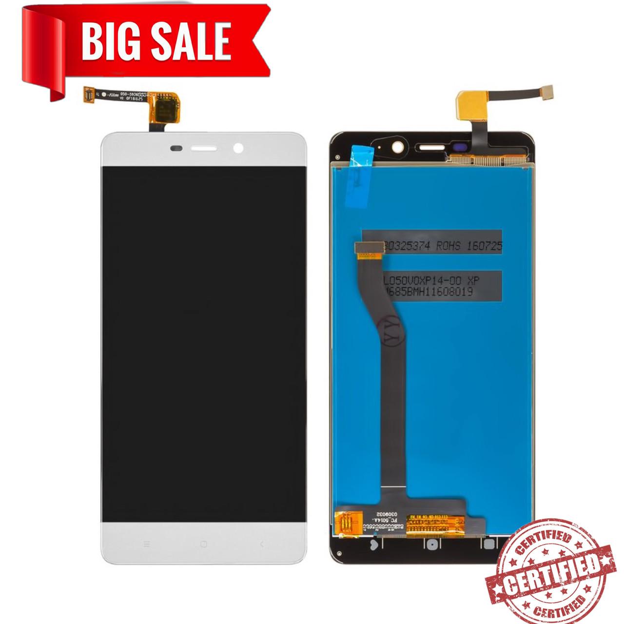 Модуль (дисплей+сенсор) для Xiaomi Redmi 4 PRO, Redmi 4 Prime білий
