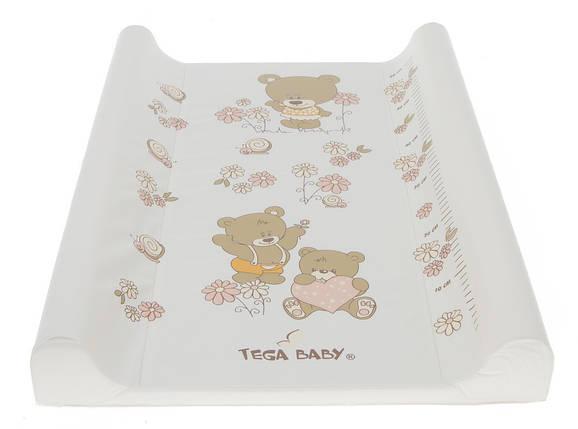 Чехол для пеленального матрасика Tega Baby Мишки, фото 2
