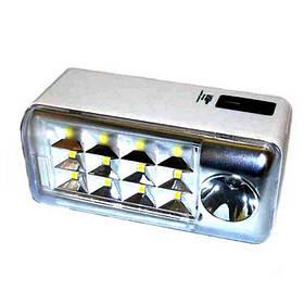 Фонарь аккумуляторный светодиодный ЛЕД прожектор GD-1112