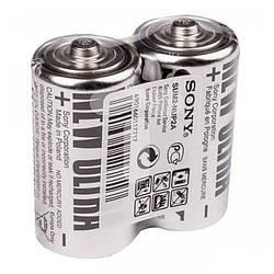 Батарейки солевая SONY R14(С) NEW ULTRA 1.5V блистер - 2шт. коробка - 24шт.