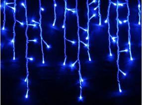 Гирлянда светодиодная LTL Sople занавес 200 led длина 6.4 метра  голубая Blue + переходник
