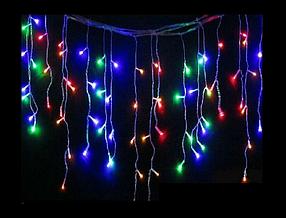 Гирлянда светодиодная LTL Sople занавес 300 led длина 9.6 метра разноцветная RGB + переходник