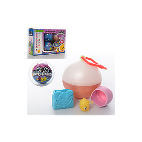 Фигурка Хетчималс в яйце 28365: шарик 7см, фигурка 2,5см