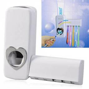 Sale! Автоматический дозатор зубной пасты и держатель щеток Kaixin KX-889, фото 2