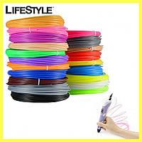 Набор пластика для 3D ручки 4 цвета (для рисования объемных моделей), фото 1