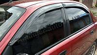 Дефлекторы окон (ветровики) Daewoo Lanos/Деу Ланос 1997-2012 (Autoclover)