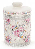 Банка керамическая Pride of Place Роза 725мл для сыпучих продуктов (psg_BD-DK0053-D)