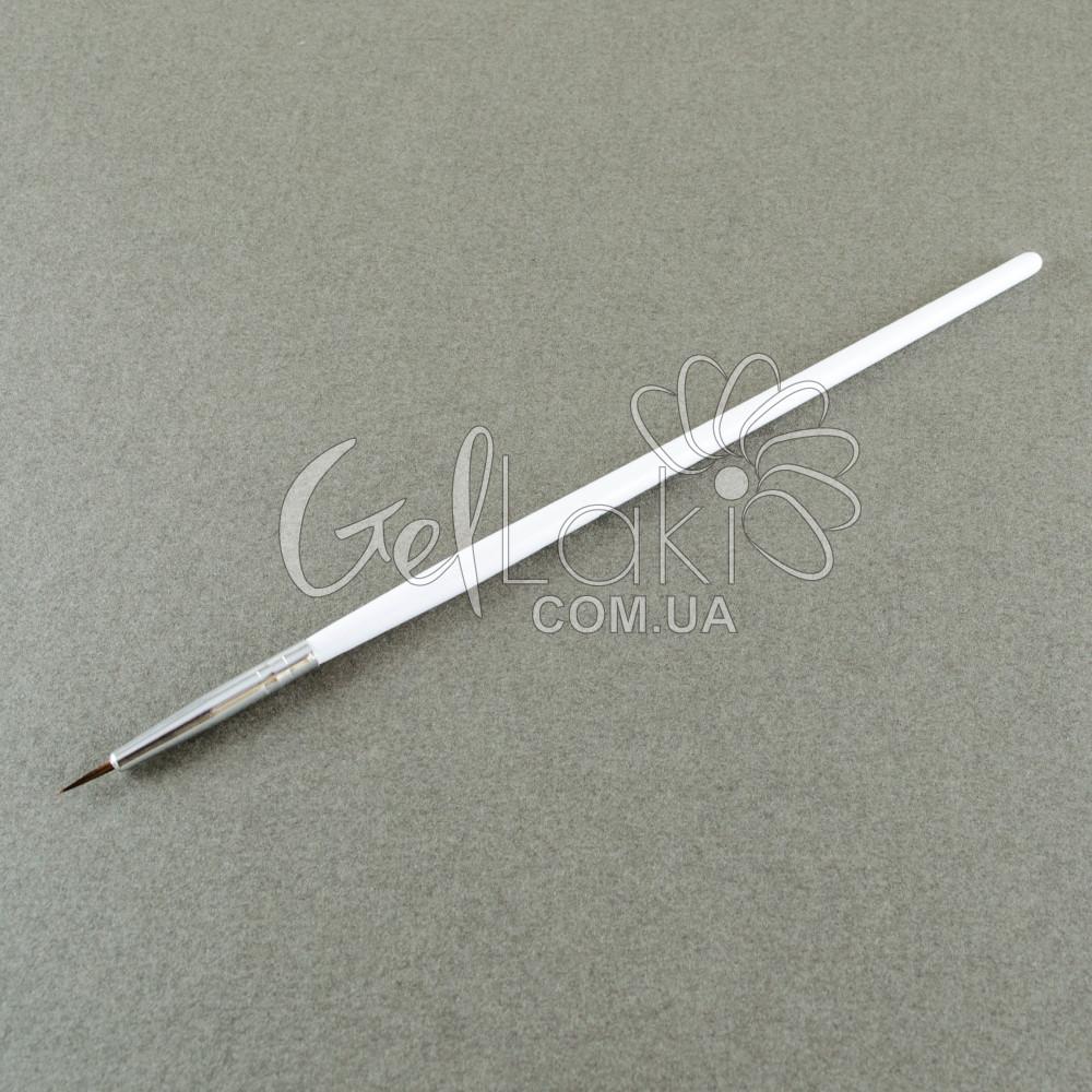 Кисть деревянная для дизайна ногтей 00 (5 мм)
