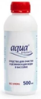 Дезинфекция бассейна без хлора Aquakristal-B, 0,5л, биоцид