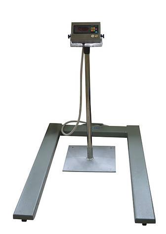 Паллетные весы ЗЕВС ВПЕ с индикатором А12Е 1200х800 (1000кг), фото 2