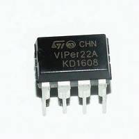 Микросхема VIPER22A VIPER22, Преобразователь переменного тока в постоянный DIP-8