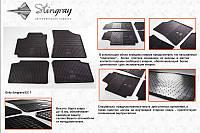 Geely Emgrand EC7 Резиновые коврики (4 шт, Stingray Premium)