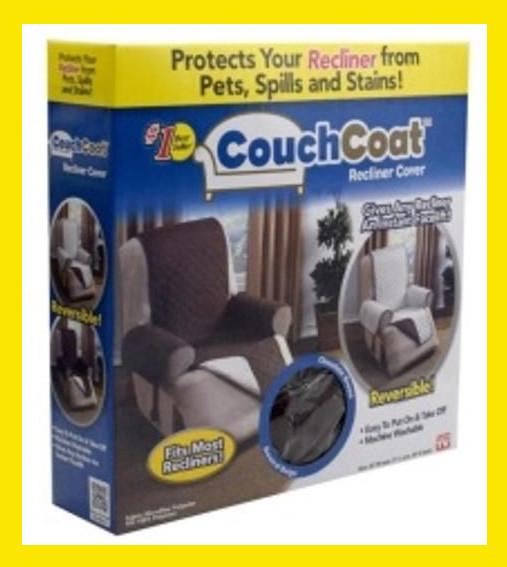 Sale! Покрывало двухстороннее для кресла Couch Coat