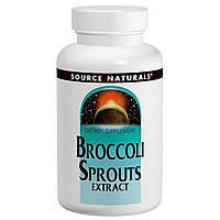 Экстракт Брокколи 250 мг, Source Naturals, 60 таблеток
