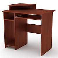 Стол компьютерный в детскую. Стол компьютерный закругленный. СКМ-1 ш: 820 мм. в: 736+96 мм г: 600 мм