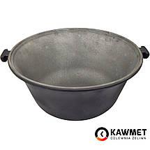 Чугунный казан (котелок) походный KAWMET 9л с крышкой сковородой гриль, фото 3