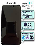 Дисплейный модуль(дисплей, экран) для iPhone X INCELL (LCD экран, тачскрин, стекло)