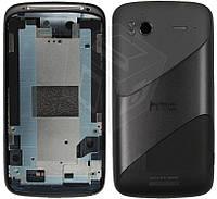 Корпус для HTC Sensation XE Z715e G18, черный, оригинал