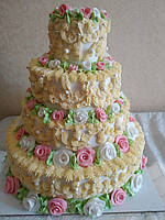 Бутафорский торт 4 этажа