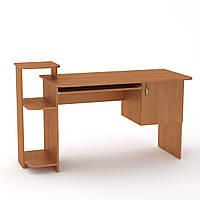 Стол компьютерный письменный. Стол компьютерный для двоих. СКМ-3 ш: 1418 мм. в: 751 + 116 + 116 мм г: 600 мм