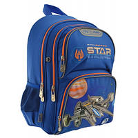 Ортопедический рюкзак для мальчика школьный YES Juno Star Explorer: 1-4 класс, 15 л, 37 см, фото 1
