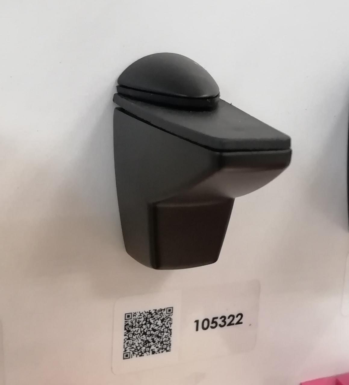 Полкодержатели для стеклянных полок GIFF Сamelar L55-75 черный