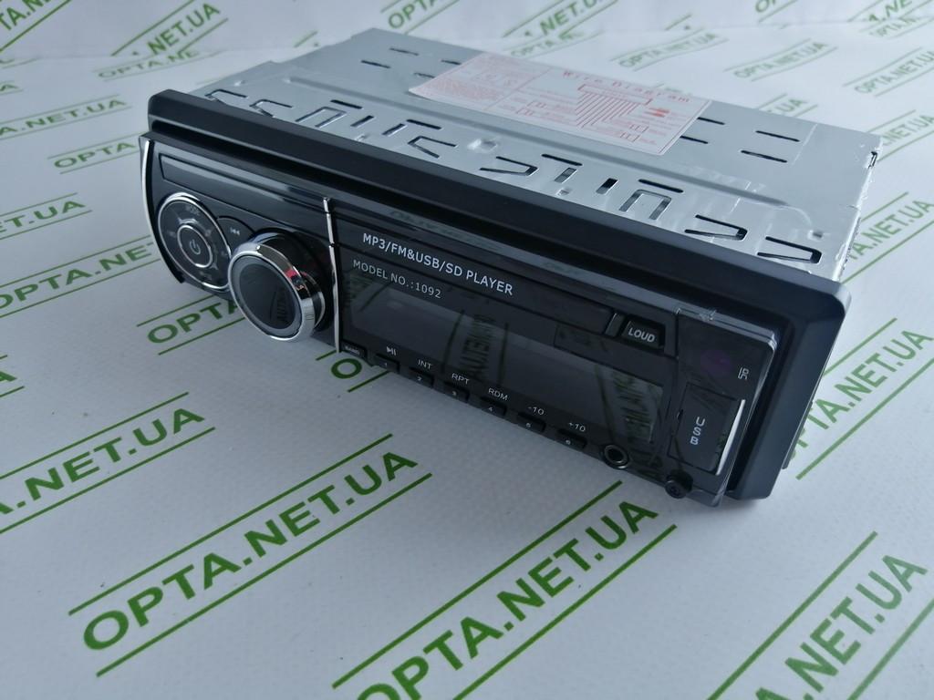 Автомагнитола Pioner  1092  ISO - MP3/FM/USB/SD/AUX