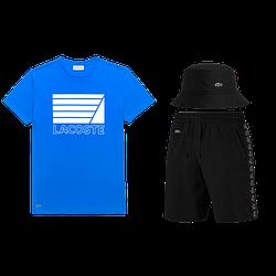 Летний костюмLacoste Knit Side Stripe Shorts (лакоста)