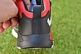 Высокие детские кроссовки Nike Air Jordan Black найк черный р32-37, фото 4