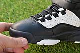 Высокие детские кроссовки Nike Air Jordan Black найк черный р32-37, фото 5