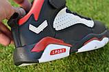 Высокие детские кроссовки Nike Air Jordan Black найк черный р32-37, фото 8