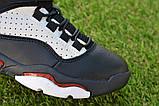 Высокие детские кроссовки Nike Air Jordan Black найк черный р32-37, фото 6