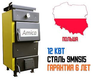 """Котел твердотопливный """"Amica"""" Classik 12 кВт. Бесплатная Доставка!"""