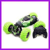 Детская машинка-перевертыш на радиоуправлении HYPER Green 34 см (Зелёный)