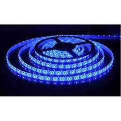 Светодиодная LED лента 3528 Голубая 60 12V без силикона