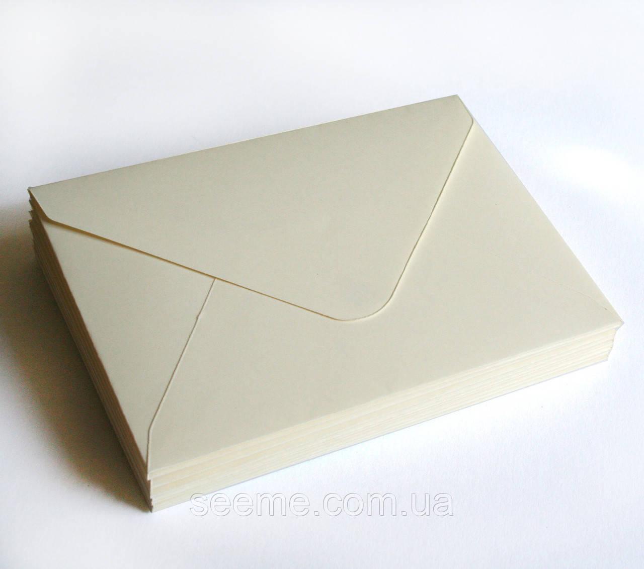 Конверт 205x140 мм, колір магнолія