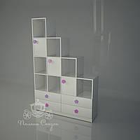 """Стеллаж - перегородка с ящиками """"Цветочная поляна"""", фото 1"""