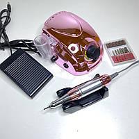 Фрезер для манікюру і педикюру професійний рожевий